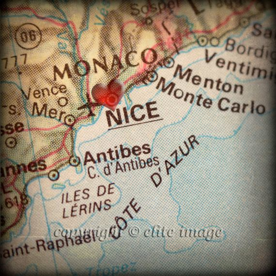 Hey, I found this really awesome Etsy listing at https://www.etsy.com/listing/89214272/8x8-map-of-nice-france-with-a-heart