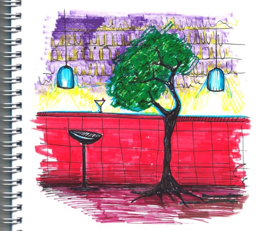 """@dauquen  """"Arreglé encontrarme en un bar con un árbol, pero no fui. Me queda escribir un libro y tener un hijo."""""""