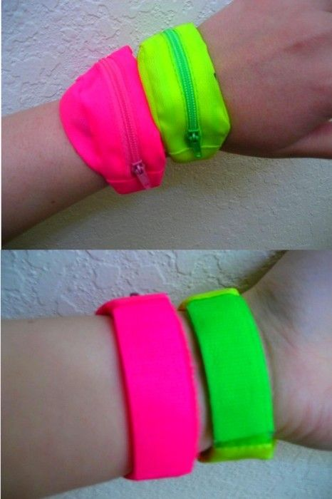 A fanny pack for your wrist! How innovative! lol This where a kept my lunch money...