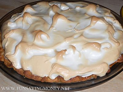 How to Make Meringue-A Fail Proof Meringue Recipe for Pies.
