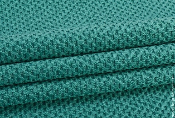 Купить Джерси жаккард Морская волна - морская волна, трикотаж, джерси, джерси для платья, жаккард