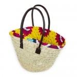 Funky Yellow and Red Kanga Basket