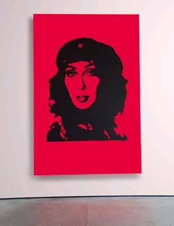 Pink Cher • SCOTT KING EXHIBITED AT THE SAATCHI GALLERY