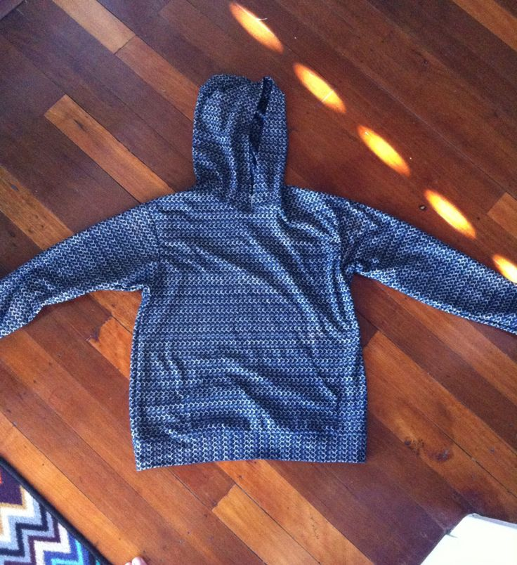 Med chainmail slouchy - toastie material