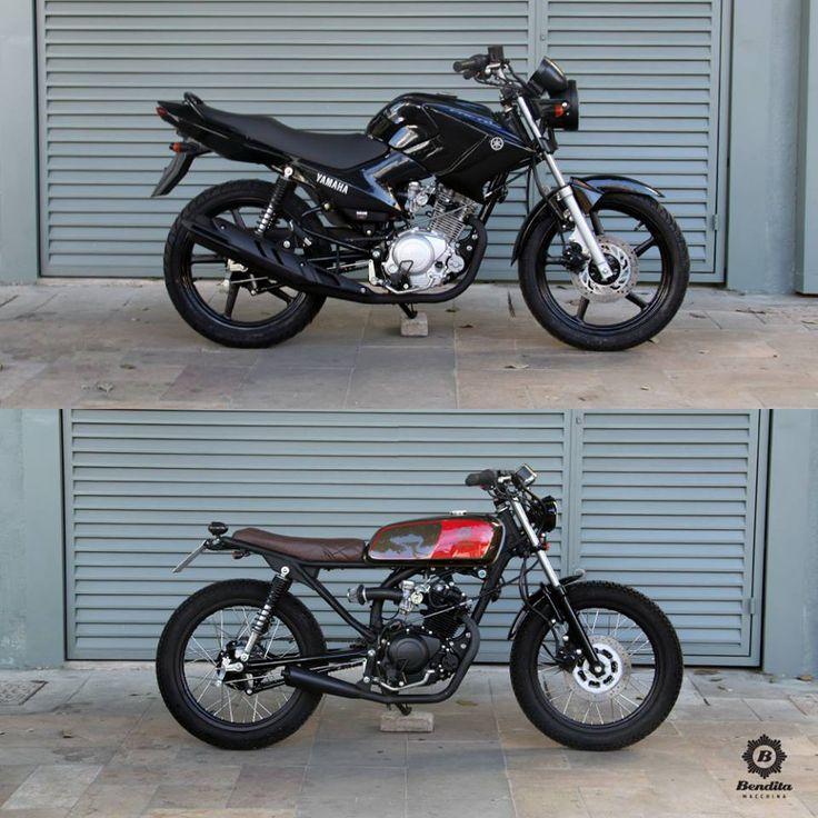 Resultado de imagem para custom moto antes depois