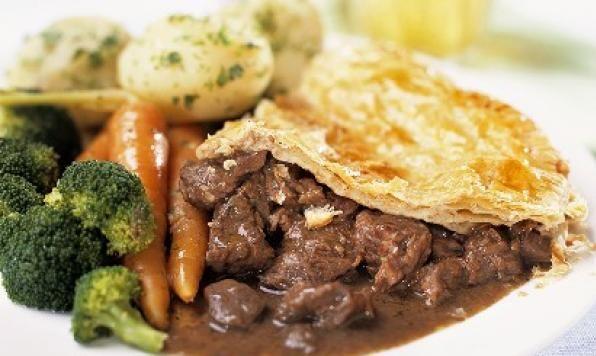 Appehtite - Pub Style Beef Pot Pie