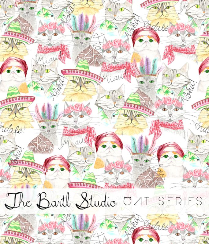 The Bartl Studio Cat Series