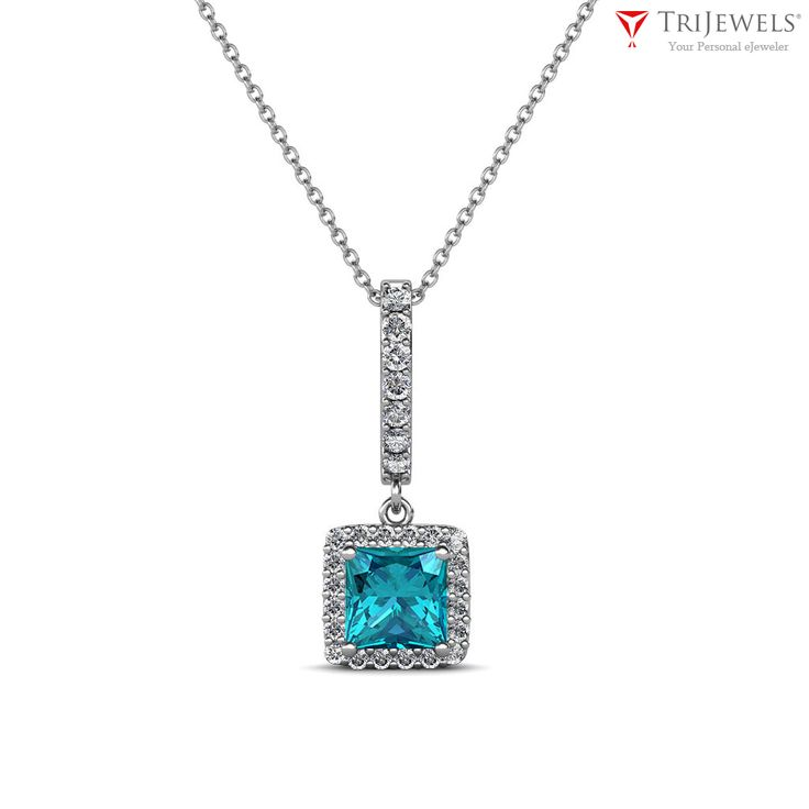 Discover your something blue! #Necklace #Pendants #Love