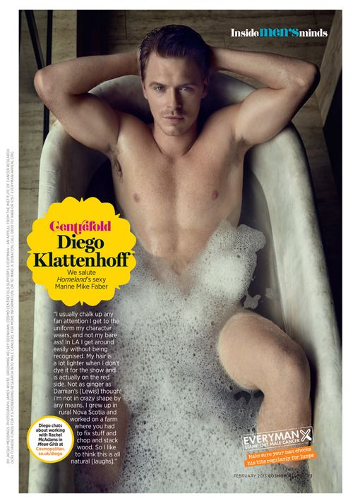 I never realized just exactly how dreamy Diego Klattenhoff truly is until I saw this picture. ;)