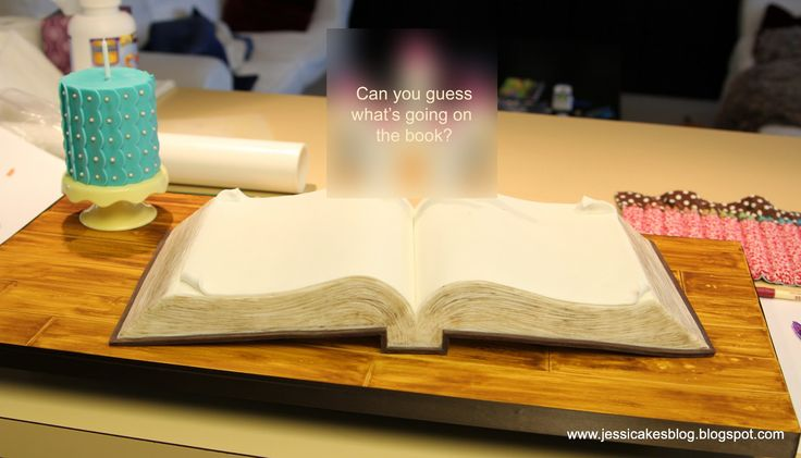 How To Make An Open Book Cake - Jessica Harris Cake Design