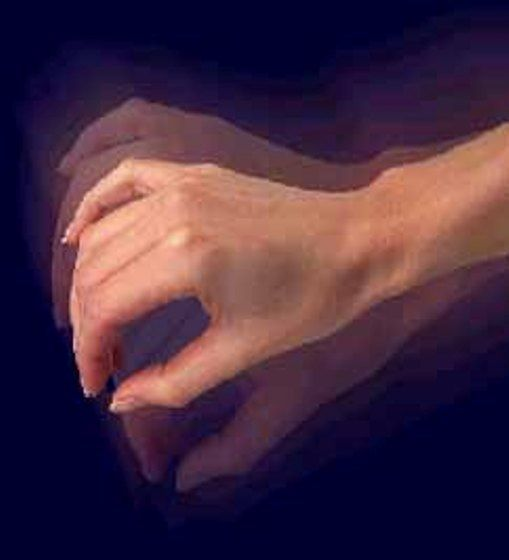 sustantivo 2: temblor - movimiento involuntario del cuerpo