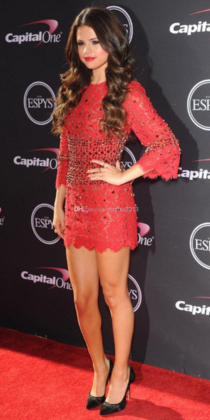 selena gomez red dress 2014 wwwpixsharkcom images