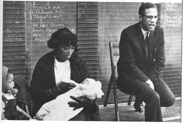 betty shabazz and malcolm x relationship with muhammad