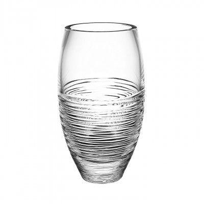Jasper Conran Strata Round Vase Waterford Crystal