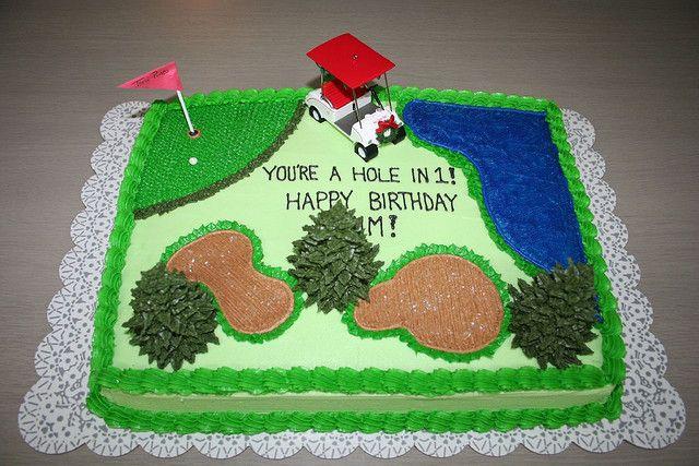 Cake Decorating Course Description : Golf Cakes for Men Recent Photos The Commons Getty ...