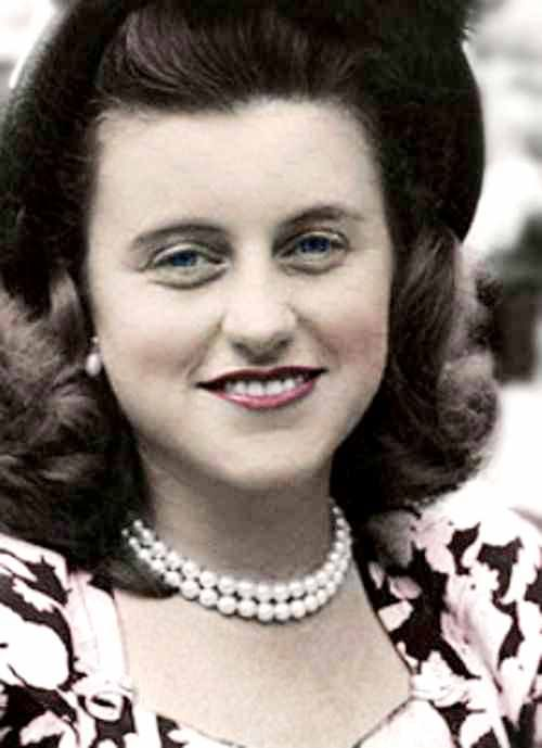 *MRS. KATHLEEN AGNES CAVENDISH ~ Marchioness of Hartington (née Kennedy; February 20, 1920 – May 13, 1948) was an American socialite. She was the fourth child and second daughter of Joseph P. Kennedy, Sr. (1888–1969) and Rose Fitzgerald (1890–1995). She was a sister of future U.S. President John F. Kennedy (1917–1963) and widow of the Marquess of Hartington (1917–1944), a soldier and politician.
