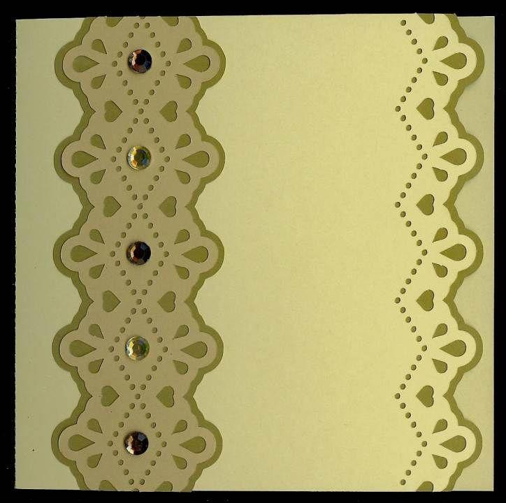 Lace edge card - Monica's Creative Room