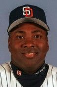 This 1999 file photo shows San Diego Padres' Tony Gwynn. The Baseball Hall of Fame says Gwynn died of cancer on Monday, June 16, 2014...