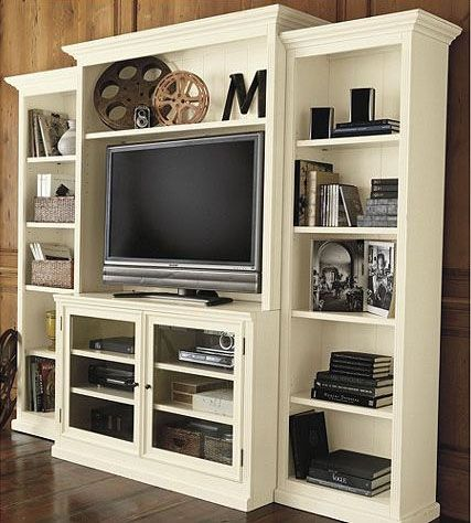 Entertainment Center Bookshelves - Foter