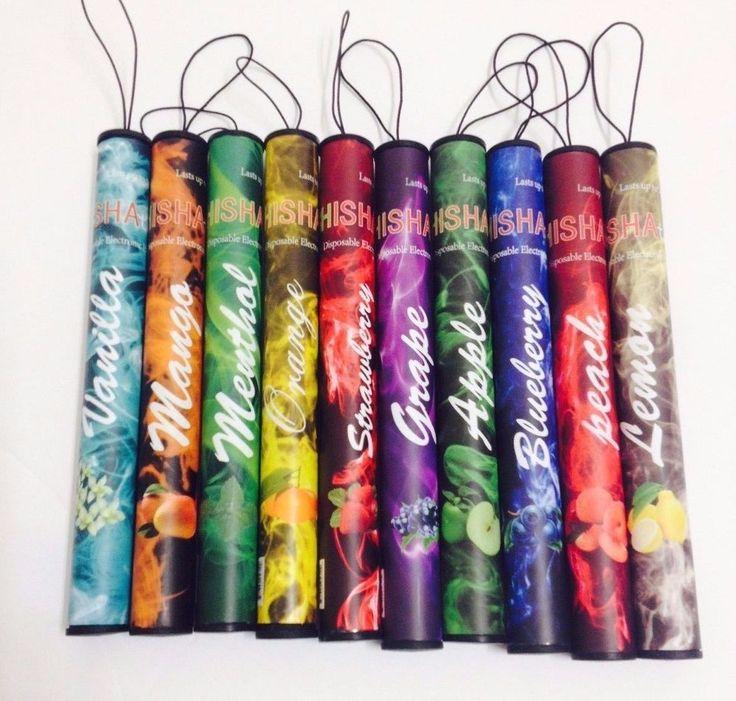 10pcs Disposable Electronic E Hookah Vapor pen shisha time 500 puffs many flavor #shishatime