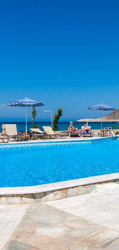 Blue Beach Apartments in Stavros, Chania
