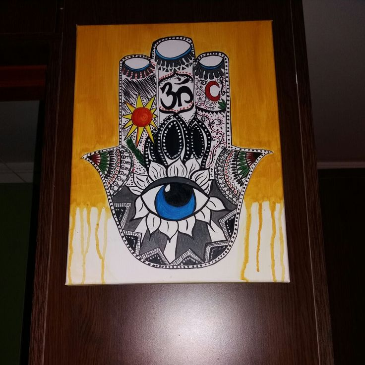 The Hamsa (Hand of Fatima)