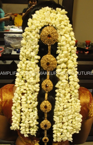 South Indian bridal hair  See www.weddingsonline in for more inspiration