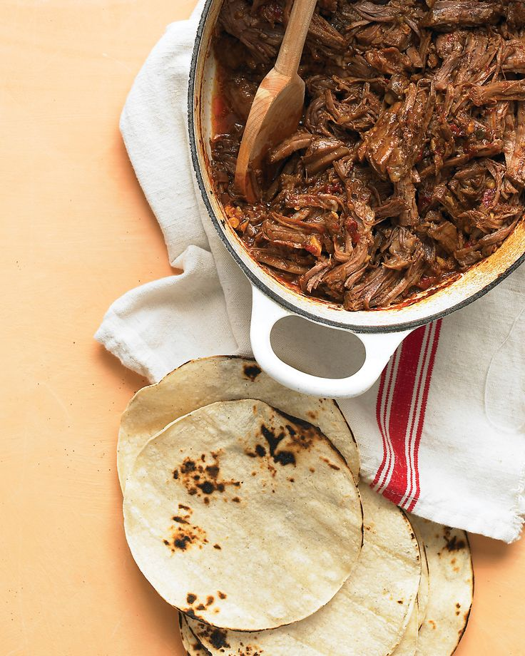 Smoky Beef Tacos Martha Stewart Living These Slow Simmer Beef Tacos Have Just