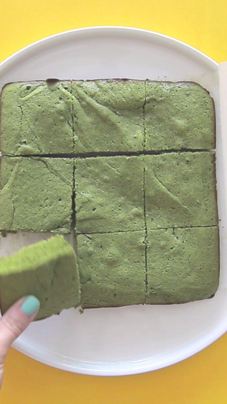 Make Matcha Brownies
