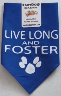 Live Long and Foster Dog Bandana