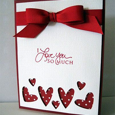 Hearts Abounding...love the punch out- adorable with diff. sentiment and the chevron punch....