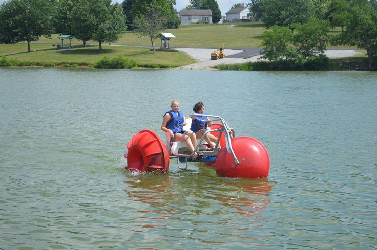 Aqua-Cycle Water Trikes at camps, campgrounds, resorts, lakes, bays ...