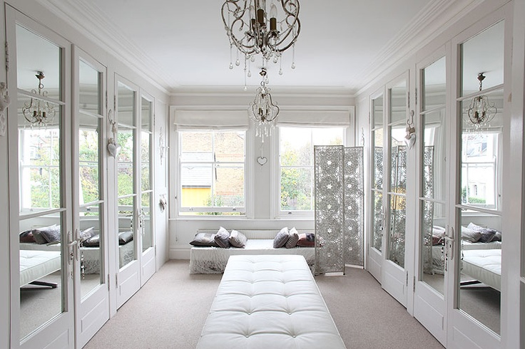 Dressing room: Victorian House in Tooting Bec, UK