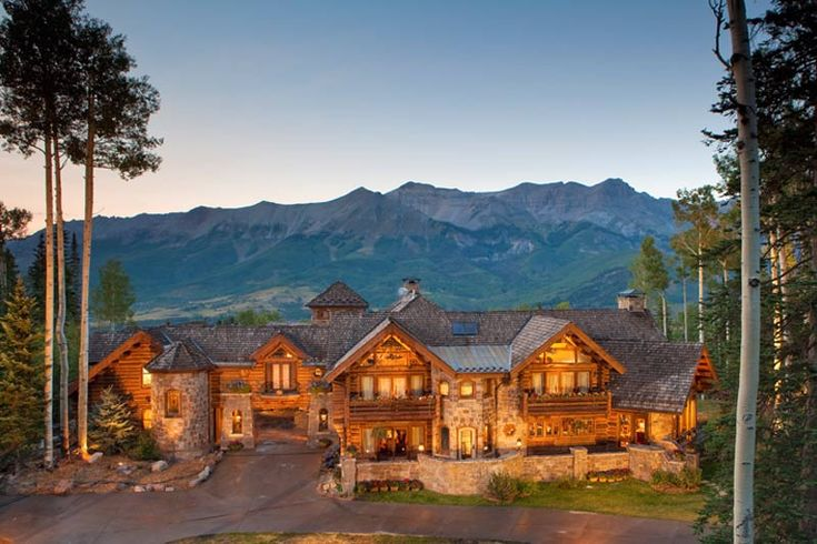 Magnificent Castlewood Manor in Telluride Colorado 2 ...