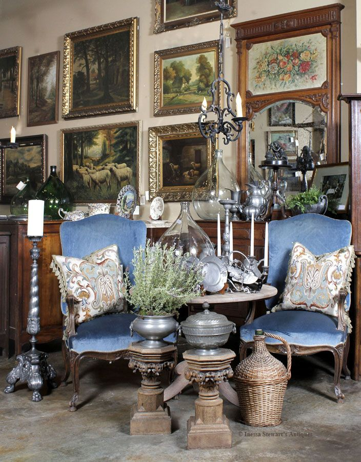 Antique French Furniture And Accessories