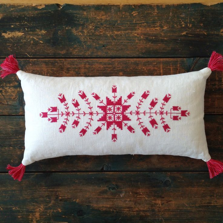 Mira Bodiroza pillows - love! Traditional Swedish embroidery on beautiful pillows, homewares and accessories.
