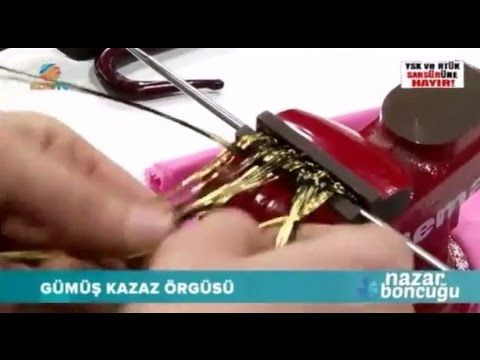 Gümüş Kazaz Örücülüğü - Trabzon Sepet Örgüsü Bilezik Yapımı - YouTube