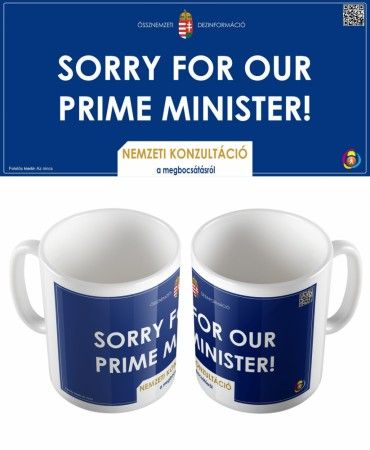 SORRY FOR OUR PRIME MINISTER! bögre
