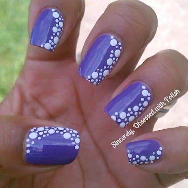 Nails Art - blue