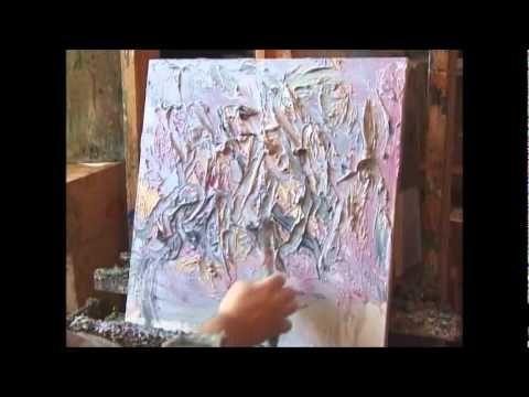 Необычная живопись маслом - YouTube Sergey Fedotov pikamaalaa 4 minuuttia.