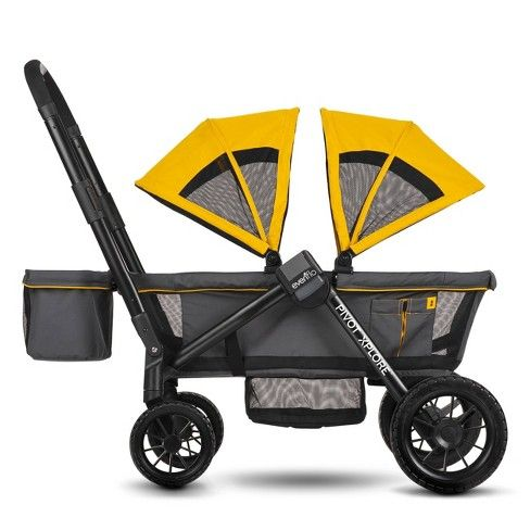 Evenflo Pivot Xplore All-Terrain Double Stroller Wagon ...