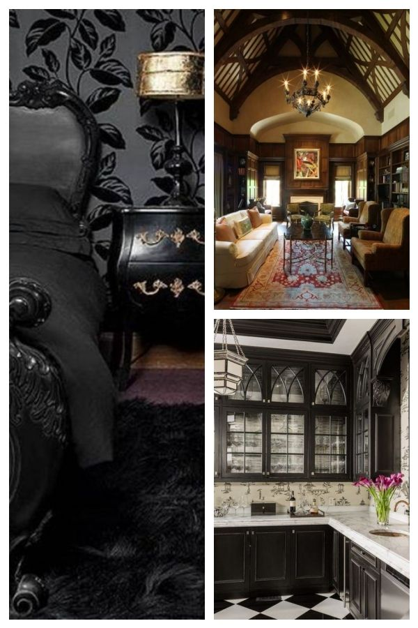 Top 10 Awesome Modern Gothic Bedroom Ideas That Will Make Your