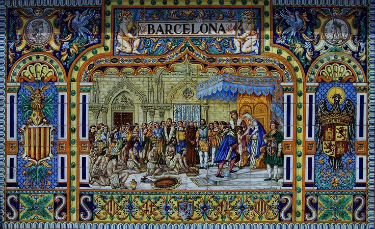 17 mejores im genes sobre escenas azulejos cer micos en for Azulejos antiguos sevilla