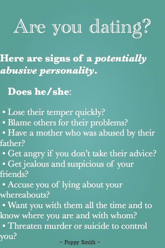 You have warning signs you are dating a narcissist are not