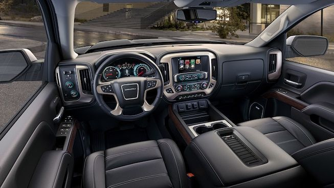 Interior Image Of 2018 Gmc Sierra 1500 Denali Luxury Pickup Truck