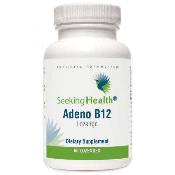 Adeno B12 Vitamin 3,000 mcg Dietary Supplement 60 Tablets by Seeking Health