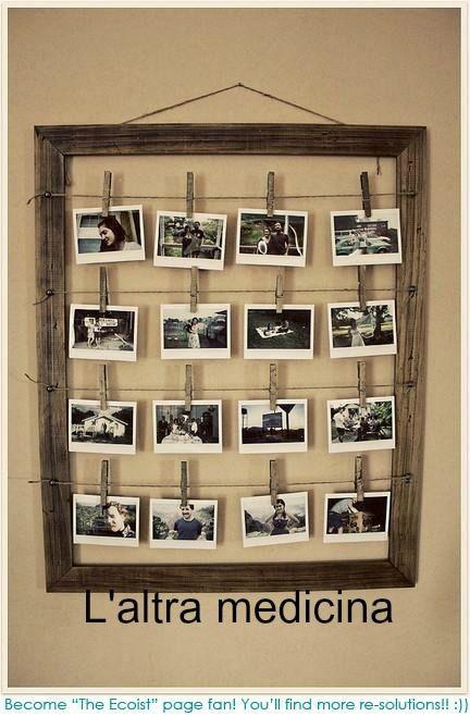 Un modo creativo per esporre le nostre foto