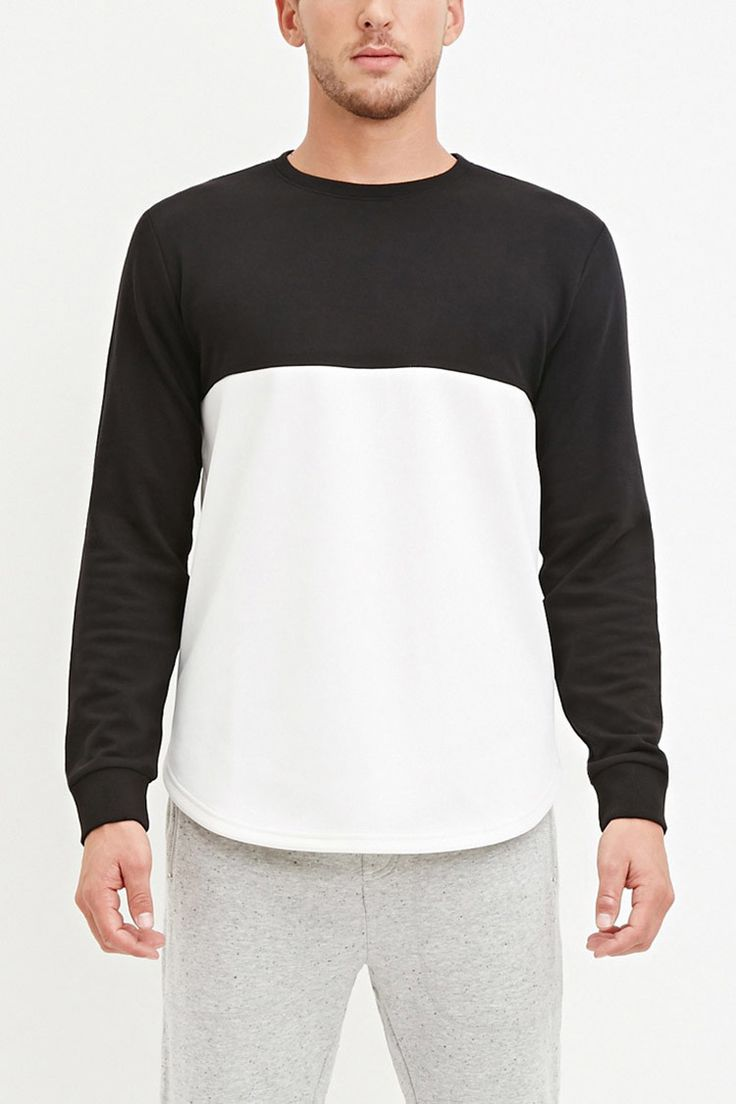Colorblocked French Terry Tee