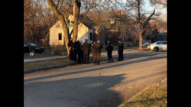 Detroit police are investigating a suspicious death of a person found in a garbage container.