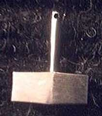 Modern Viking jewelry - stainless steel thor hammer pendant